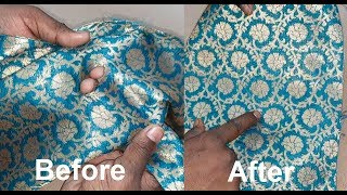 How to Repair Cut and Holes in Clothes Without Stitching