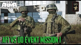 AFI vs UO Event Mission 1