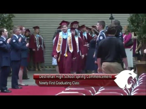 Destrehan High School 2016 Graduation
