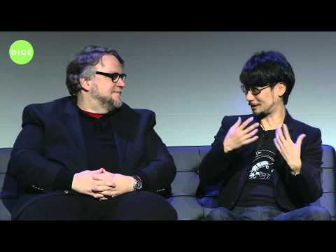 D.I.C.E. Summit 2016 - Hideo Kojima, Guillermo del Toro & Geoff Keighley