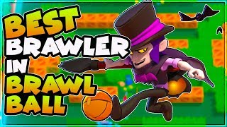 Mortis is AMAZING in Brawl Ball| Best Ball Carrier in Brawl Stars