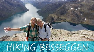 Besseggen - SURREAL HIKE in Norway - Van life Norway