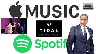 Best Music Streaming Service | Tidal Vs Apple Music Vs Spotify