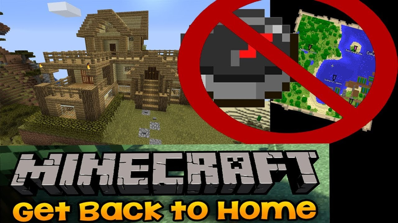 Download How to Find your House In Minecraft If your lost !