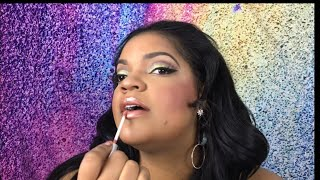 HOW TO APPLY LIPGLOSS   EASY MAKEUP TUTORIAL