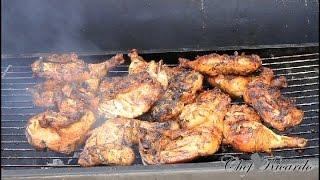 The Best Jamaican Summer Jerk Chicken -Recipe: Jamaican Jerk Chicken On The Grill