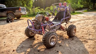 Barbie Jeep Gets Custom 4 Link Suspension + Shred Session!