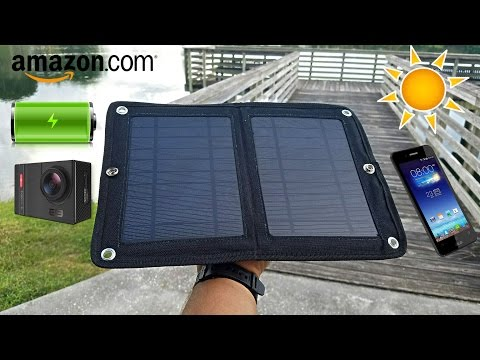 Solar Charger WKDT-006 - Waterproof - For Any Smartphone & More!