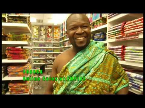 African prints in London Liverpool Street  - Part 1