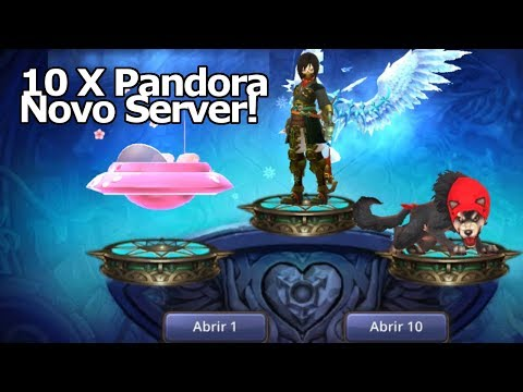 Dragon Nest M: 10X Caixas de Pandora!!! Chegando no Novo SERVER COMO!? - Omega Play