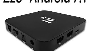 Новый и мощный TV Box Z28 на Android 7.1 Дё�...
