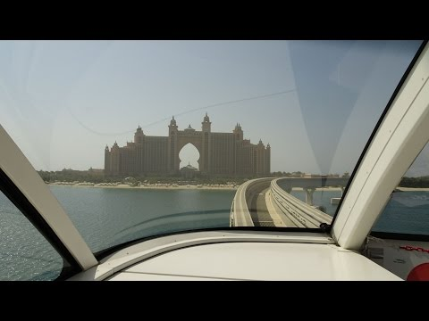 Dubai Monorail full ride: Gateway → Atlantis Hotel