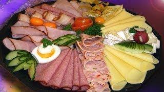 Мясная тарелка. Фото оформления