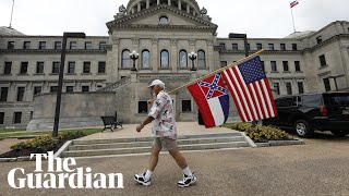 Mississippi Flag Comes Down After Vote To Remove Confederate Emblem