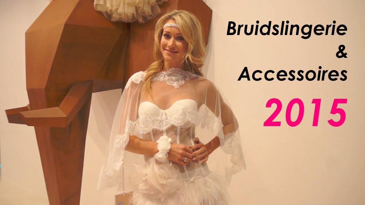 2015 Bruidslingerie en bruidsaccessoires! Het mooiste van Poirier!