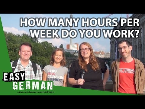 How many hours per week do you work? | Easy German 210