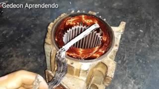 Aprendendo mudança de esquema do motor elétrico