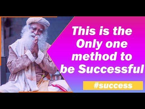 Key to Success Pay Attention | success tips - Sadhguru