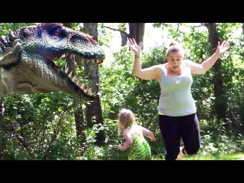Dinosaur In Real Life Hidden Camera Practical Joke