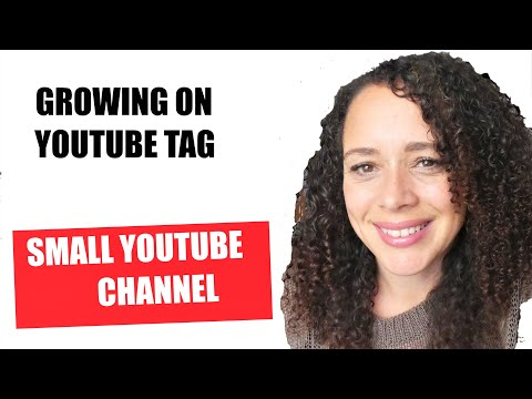 GROWING ON YOUTUBE TAG SMALL YOUTUBE CHANNEL TAG ALMOST AT 1000 SUBSCRIBERS!