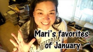 My 3 favorites of JANUARY [ Mari | Friday ]