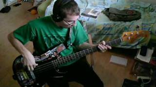 RHCP - Knock Me Down (Long Version) [Bass Cover]