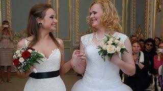 В петербургском ЗАГСе состоялась первая настоящая ЛГБТ-свадьба