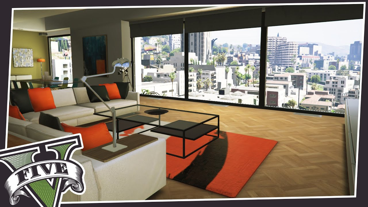 GTA Online Apartments IN SINGLE PLAYER! - YouTube