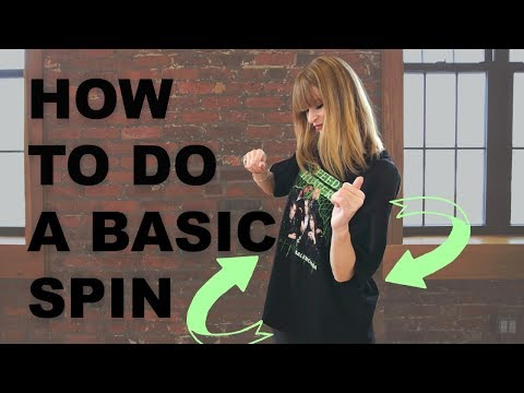 How To Do A Basic Spin I  Club Dance Moves Tutorial For Beginners Part 41