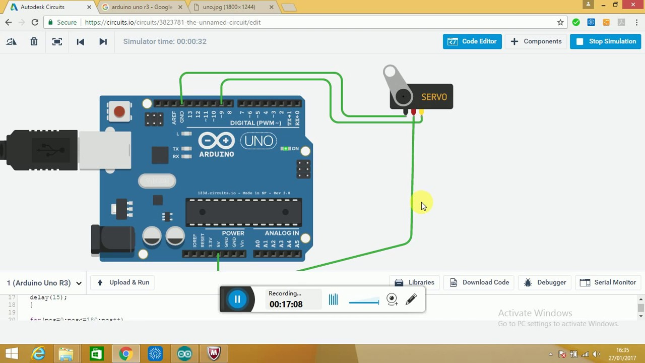 Servo Motor Control Using Arduino Pdf Your Motors With L293d Guilherme Martins Controlling Uno R3 Hindi You