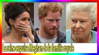 URGENCE! La reine Elizabeth II a expulsé Meghan Markle du palais parce que le bébé n'était pas Harry