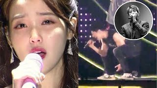 Iu Bursts Into Tears During Performance, Yunho Cries Out On Stage Becaue Of Jong