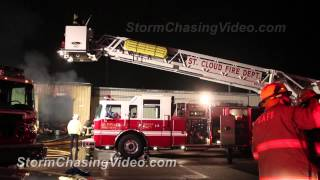 3/31/2012 Saint Cloud MN SCS Book Warehouse Fire
