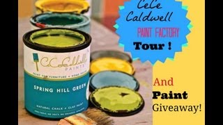 Cece Caldwell Chalk And Clay Paint Factory Tour!