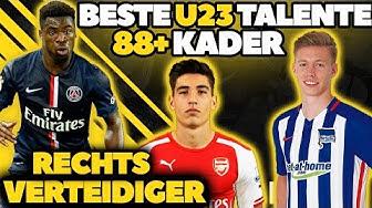 FIFA 17: BESTE RECHTS VERTEIDIGER TALENTE OHNE TRAINING! U23 88+ KARRIERE POTENZIAL