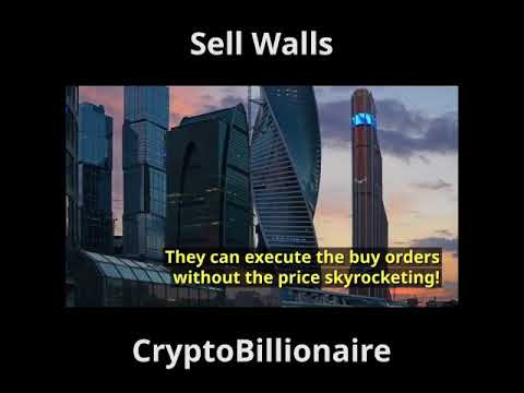 Crypto Sell Walls - What are they and how you can take advantage of it