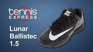 Nike Mens Nike Lunar Ballistec 1.5 Shoe Review | Tennis Express