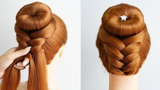 Easy French Roll Updo Hairstyle Cute Updo Hairstyles For Prom New Hairstyle Simple For Girl