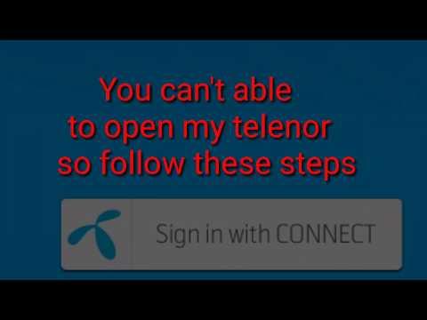 12 July 2019 My Telenor App Quiz. my Telenor App Is Not Working  how To Fixed My Telenor App.