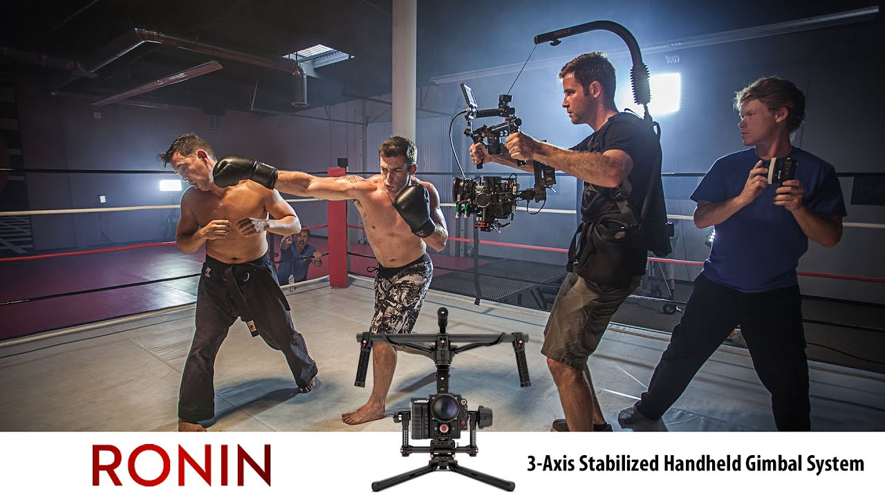 Dji Ronin 3 Axis Stabilized Handheld Gimbal System Youtube