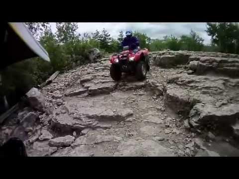 Drummond Island Michigan Atv Ride 2012 Youtube