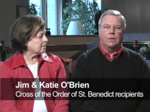 Benedictine College  - Scholarship Ball 2010 - Jim and Katie OBrien Honorees