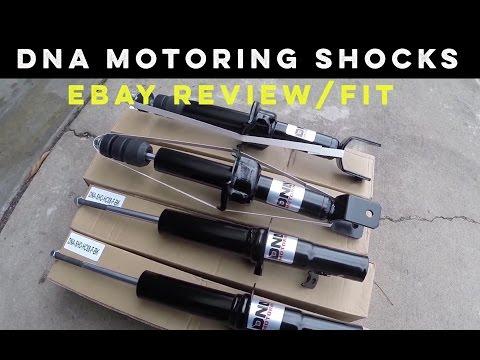 eBay DNA Motoring Shocks | 88-91 Civic CRX EF | Review & Fitment
