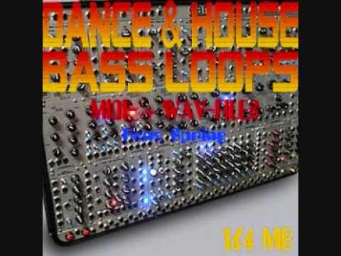 Dance House Bass Loops Midi-Files, Wav-Files
