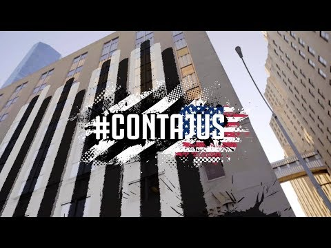 #CONTAJUS: Juventus turns New York City Black and White!