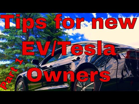 Tips & Hints for Beginner EV Owner Part 1 of   4   Electric Vehicle