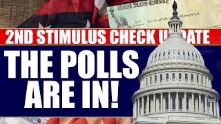 Second Stimulus Check Update and Stimulus Package Sunday May 31st: Polls on More Stimulus Checks