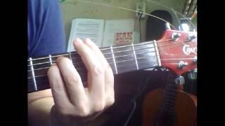 Романс   Над окошком месяц  Аккорды на гитаре
