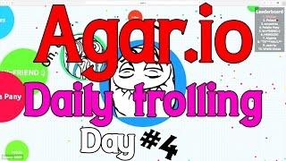 Agar.io - Daily Trolling Video (August 2015, Day 4) + BONUS CLIP
