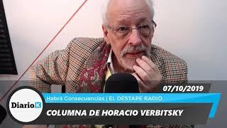 EL DESTAPE - Horacio Verbitsky - El plan F - 07 10 19
